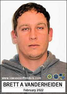 Brett Alen Vanderheiden a registered Sex Offender of Iowa