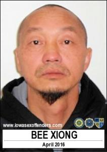 Bee Xiong a registered Sex Offender of Iowa