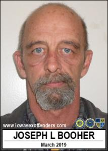 Joseph Lee Booher a registered Sex Offender of Iowa