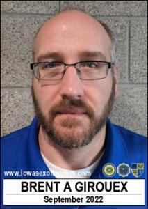 Brent Allen Girouex a registered Sex Offender of Iowa