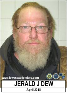 Jerald Jay Dew a registered Sex Offender of Iowa