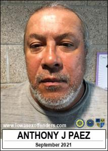 Anthony Joseph Paez a registered Sex Offender of Iowa