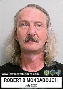 Robert Bryan Mondabough a registered Sex Offender of Iowa