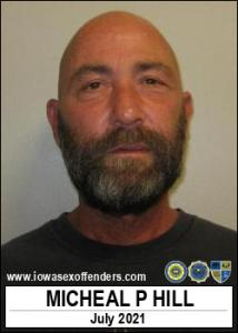 Micheal Paul Hill a registered Sex Offender of Iowa