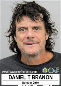 Daniel Todd Branon a registered Sex Offender of Iowa