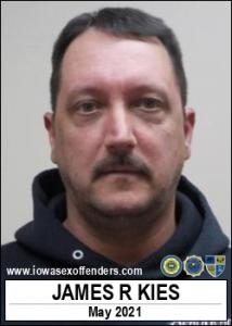 James Ryan Kies a registered Sex Offender of Iowa