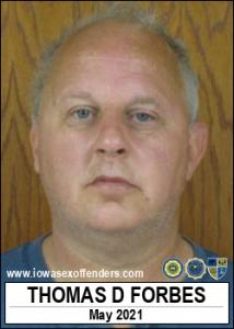 Thomas Doyle Forbes a registered Sex Offender of Iowa