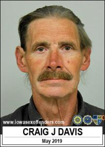 Craig Jeffery Davis a registered Sex Offender of Iowa