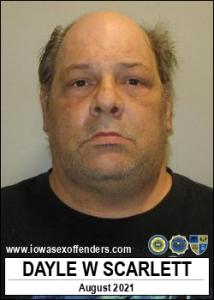 Dayle Wayne Scarlett a registered Sex Offender of Iowa