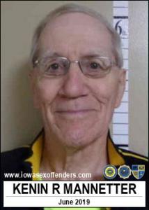 Kenin Ray Mannetter a registered Sex Offender of Iowa
