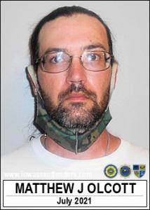 Matthew John Olcott a registered Sex Offender of Iowa