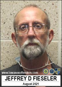 Jeffrey Dean Fieseler a registered Sex Offender of Iowa