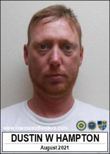 Dustin Wade Hampton a registered Sex Offender of Iowa
