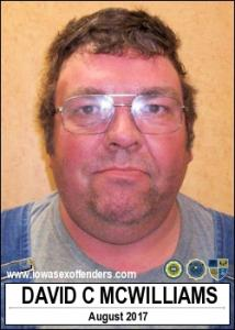 David Carl Mcwilliams a registered Sex Offender of Iowa