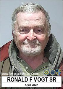 Ronald Fay Vogt Sr a registered Sex Offender of Iowa
