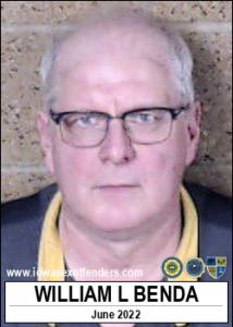 William Lee Benda a registered Sex Offender of Iowa