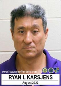 Ryan Lee Karsjens a registered Sex Offender of Iowa