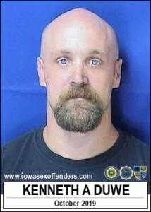Kenneth Alan Duwe a registered Sex Offender of Iowa