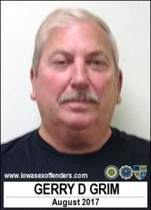 Gerry Duane Grim a registered Sex Offender of Iowa