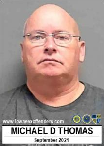 Michael Dearl Thomas a registered Sex Offender of Iowa
