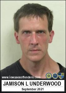 Jamison Lee Underwood a registered Sex Offender of Iowa