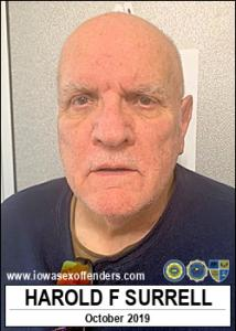 Harold Francis Surrell a registered Sex Offender of Iowa