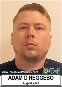Adam Dean Heggebo a registered Sex Offender of Iowa