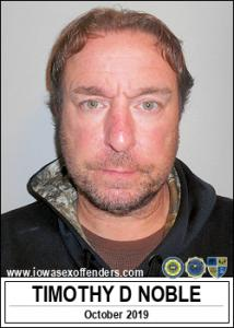 Timothy Dale Noble a registered Sex Offender of Iowa