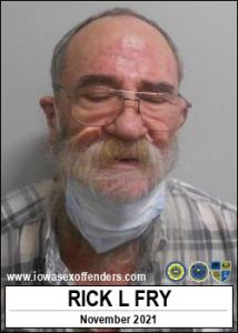 Rick Laverne Fry a registered Sex Offender of Iowa