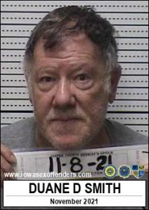 Duane Dimon Smith a registered Sex Offender of Iowa