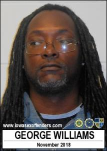 George Williams a registered Sex Offender of Iowa