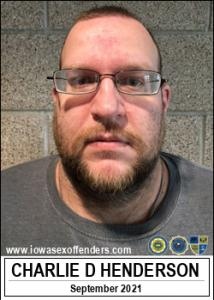 Charlie David Henderson a registered Sex Offender of Iowa