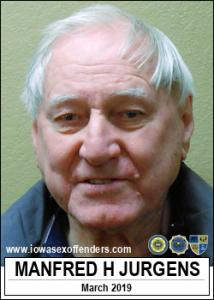 Manfred Harm Jurgens a registered Sex Offender of Iowa