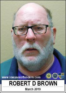 Robert Dean Brown a registered Sex Offender of Iowa