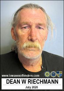Dean William Riechmann a registered Sex Offender of Iowa