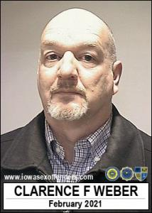 Clarence Frederick Weber a registered Sex Offender of Iowa