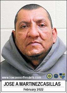 Jose Adrian Martinezcasillas a registered Sex Offender of Iowa