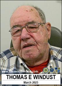 Thomas Edward Windust a registered Sex Offender of Iowa