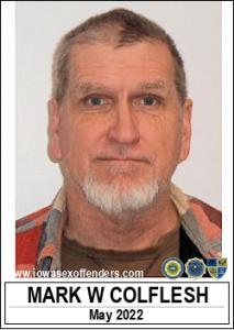 Mark Wayne Colflesh a registered Sex Offender of Iowa