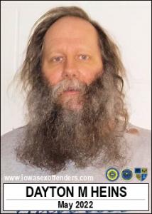 Dayton Matthew Heins a registered Sex Offender of Iowa