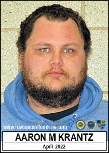 Aaron Mitchell Krantz a registered Sex Offender of Iowa