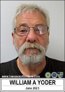William Allen Yoder a registered Sex Offender of Iowa