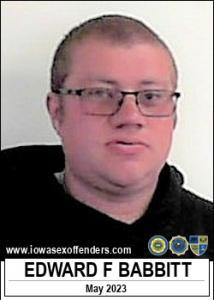 Edward Franklin Babbitt a registered Sex Offender of Iowa