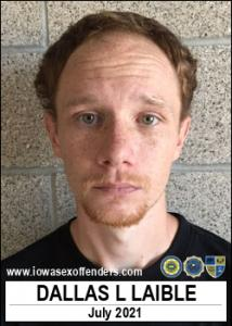 Dallas Lee Laible a registered Sex Offender of Iowa