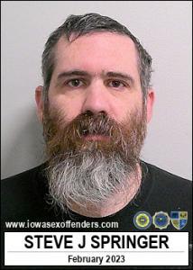 Steve Joseph Springer a registered Sex Offender of Iowa