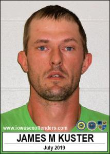 James Martin Kuster a registered Sex Offender of Iowa