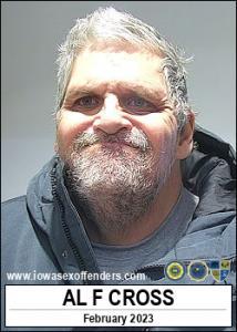 Al Franklin C Cross a registered Sex Offender of Iowa