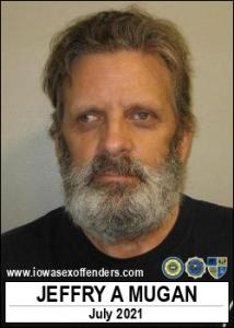 Jeffry Allen Mugan a registered Sex Offender of Iowa