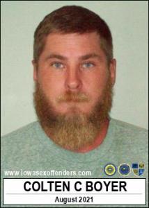Colten Conrad Boyer a registered Sex Offender of Iowa