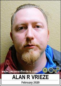 Alan Raymond Vrieze a registered Sex Offender of Iowa